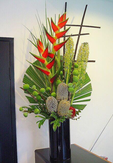 helicônia para decorar sua sala de estar