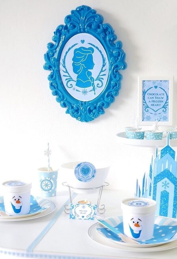 ideias para festa simples da frozen Foto Kara's Party Ideas