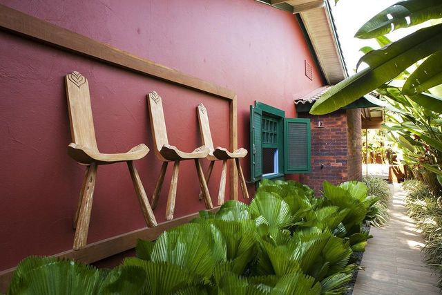 jardim residencial - área externa com jardim