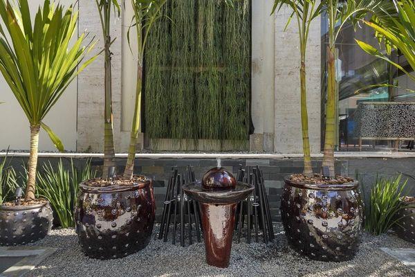 jardim residencial - jardim do lounge