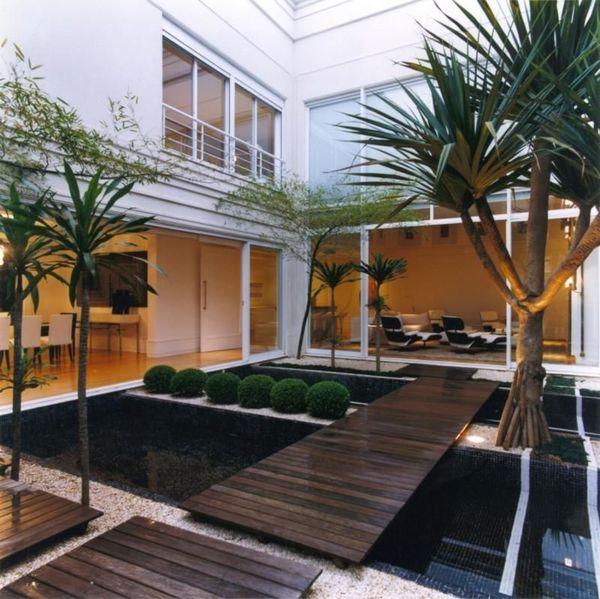 jardim residencial - jardim e lago