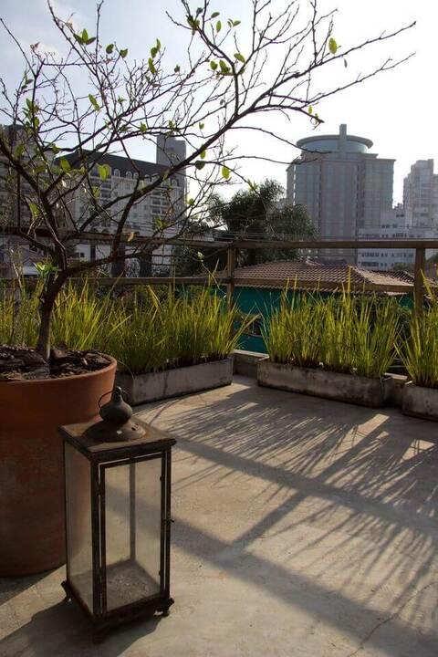 jardim residencial - jardim em área externa superior