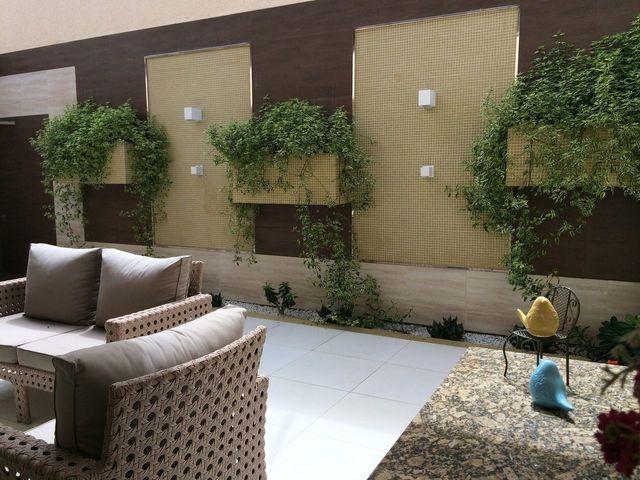 jardim residencial - jardim vertical simples