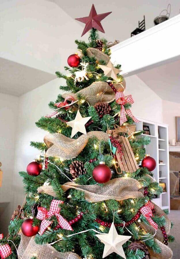 kit enfeites para árvore de natal tradicional Foto Pinterest