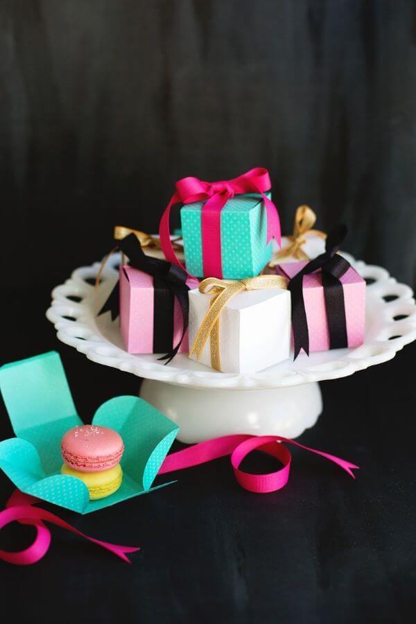 Lembrancinhas de aniversário com doces