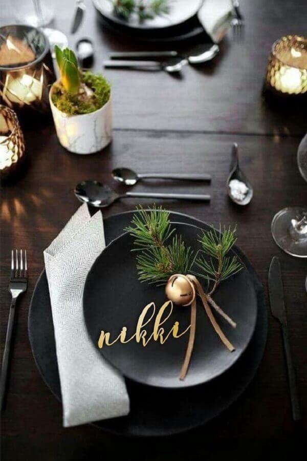 mesa de ano novo decorada moderna Foto Etsy