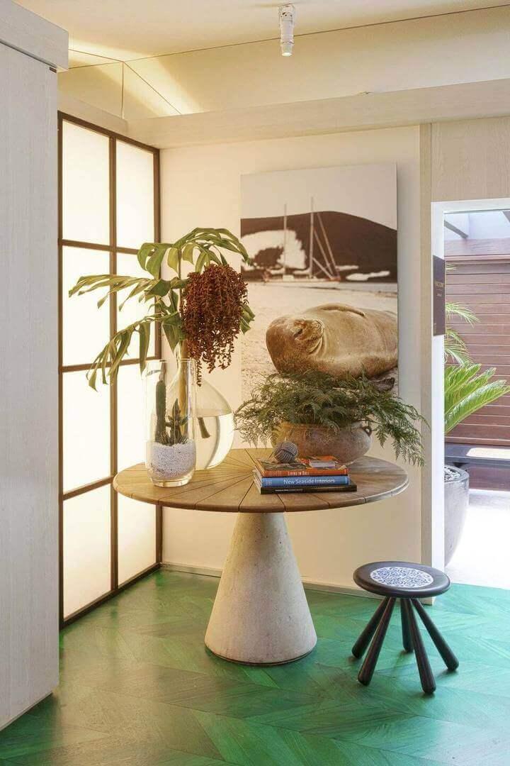 mesa de canto para sala - mesa de canto redonda