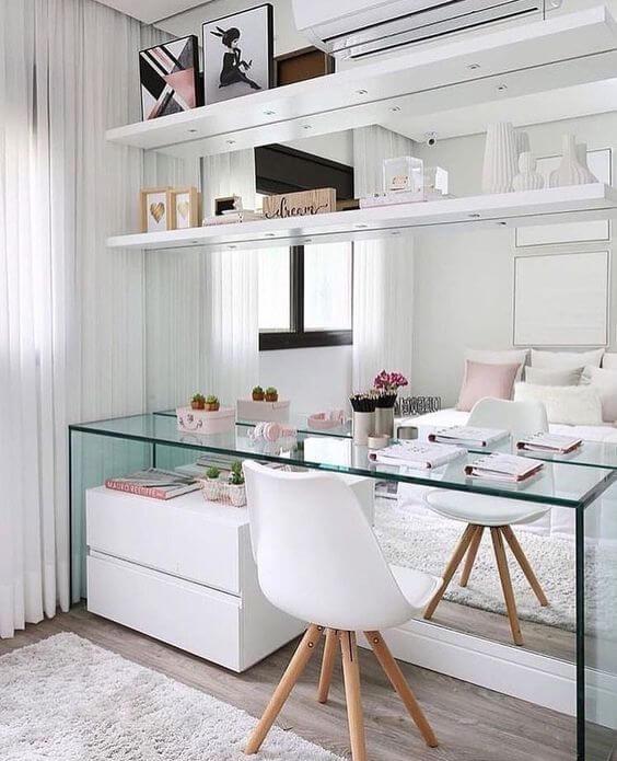 Mesa para quarto moderno e pequeno