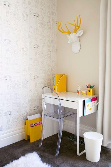63. Mesa de estudo para quarto moderno - Por: The Noo And the Boy