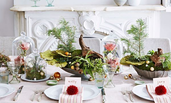 Capriche na decoração do centro de mesa
