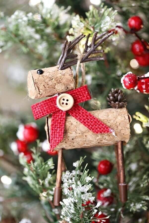 modelo rústico de enfeites de árvore de natal Foto MyJane