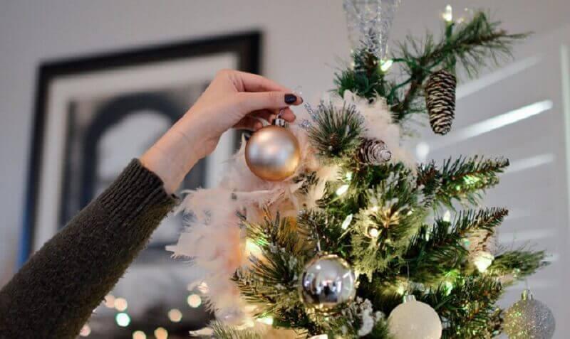 modelos de enfeites para árvore de natal Foto MyJane