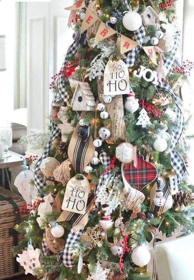 modelos diferentes de enfeites de árvore de natal Foto Archzine