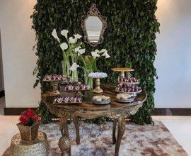 muro inglês - festa luxuosa com muro - Tua Casa