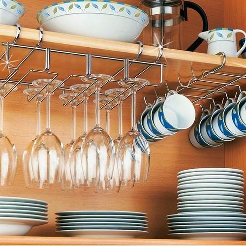 organizadores de cozinha - suporte para taças