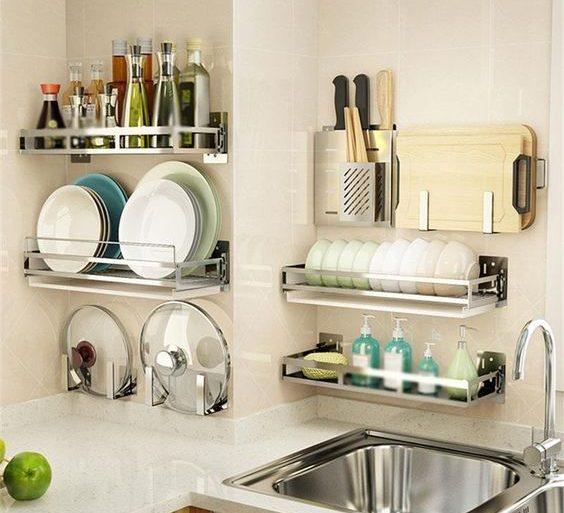 organizadores de cozinha - suporte para utensílios - Top Daily Trends