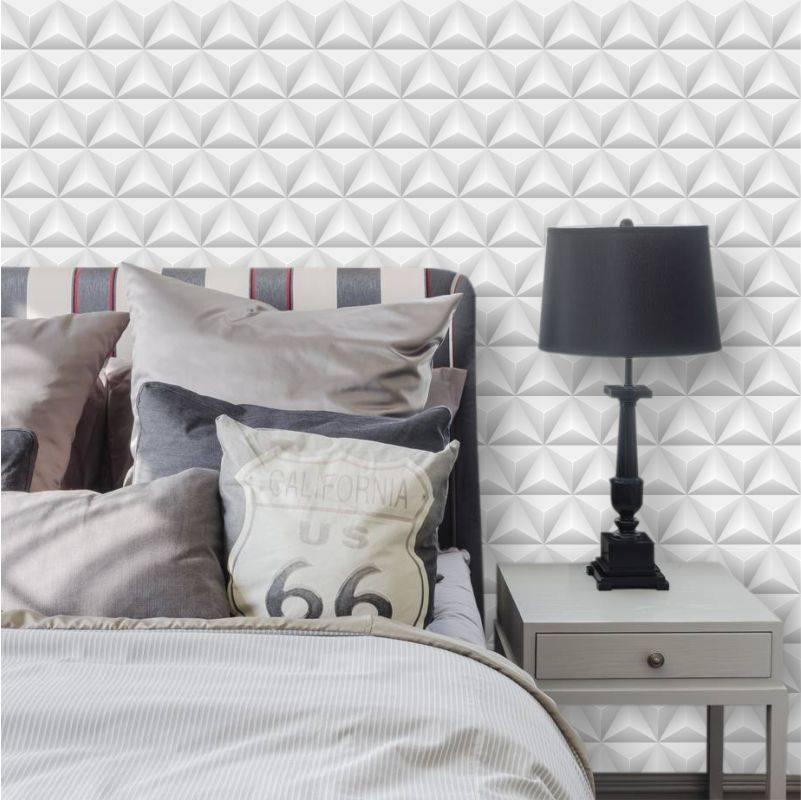 papel de parede geométrico - papel de parede 3d simples