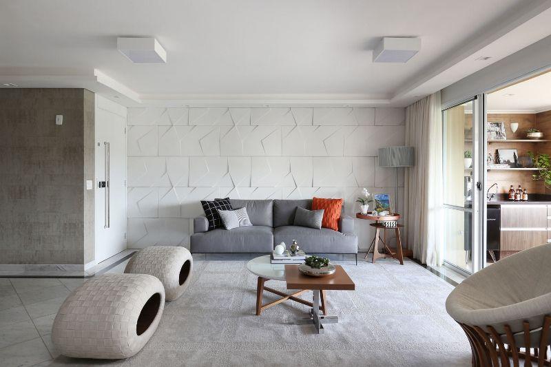 parede 3d - revestimento 3d na parede
