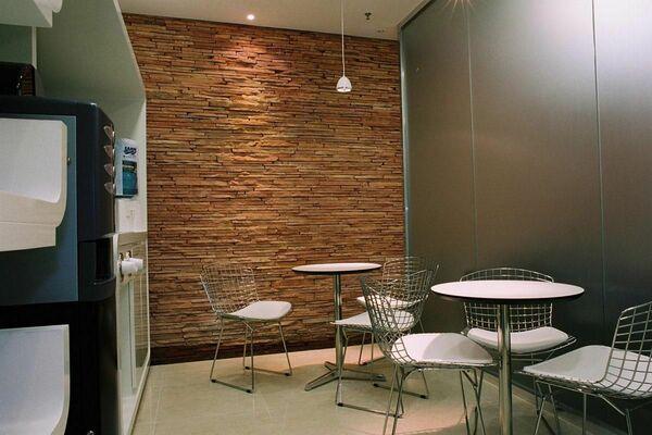 parede de pedra - copa com parde de pedra