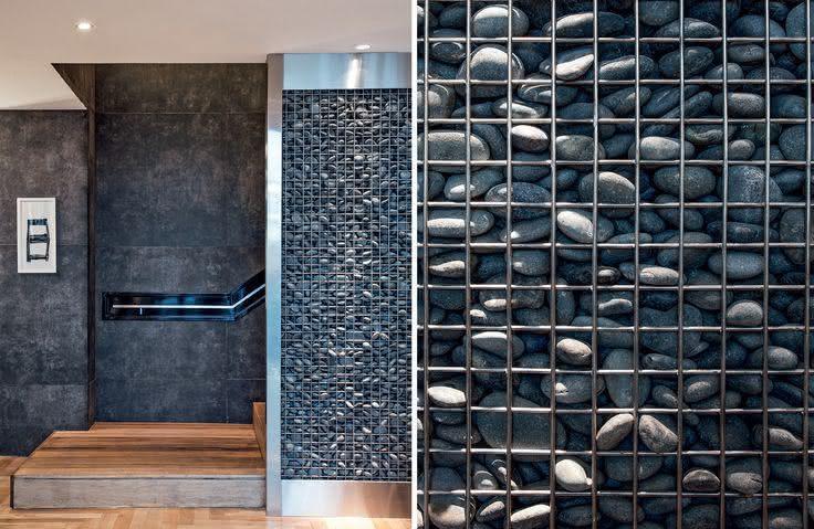 parede de pedra - parede com pedras soltas