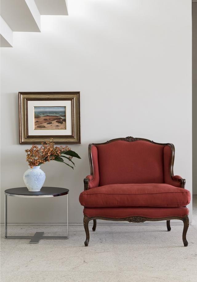 poltrona vermelha - poltrona vermelha clássica