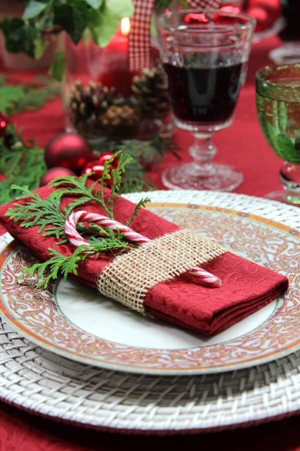doces para decorar a mesa de natal