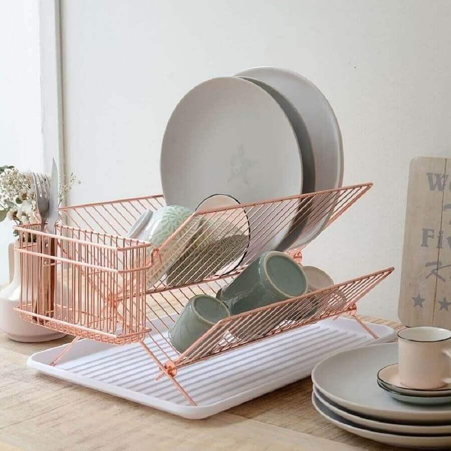 utensílios de cozinha rosa Foto Gramona Interiors