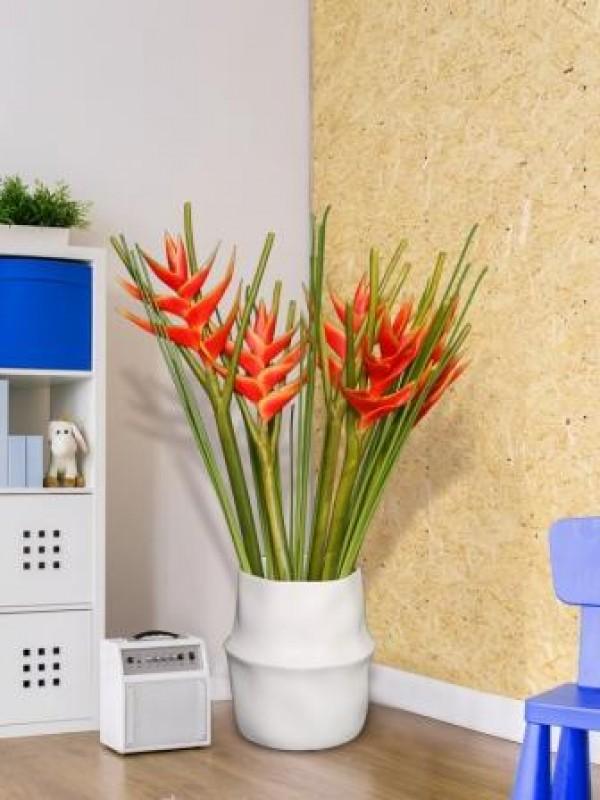 Vaso de plantas no escritório