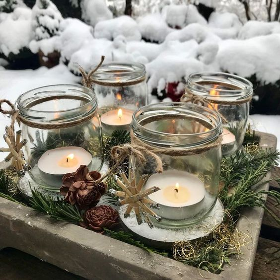 velas de natal - velas pequenas de natal