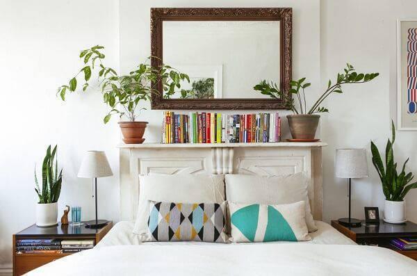 As plantas para quarto podem ficar próximas a cama