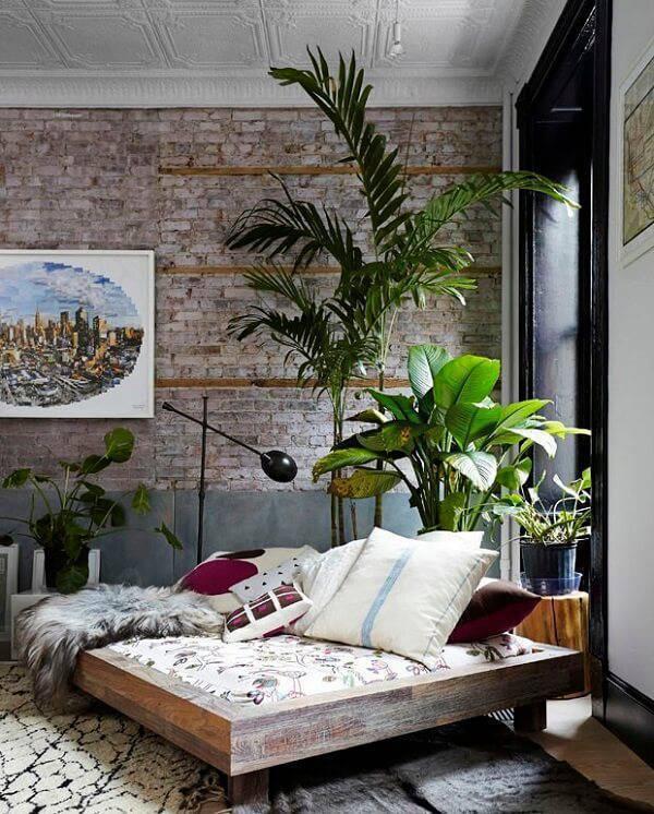 Invista em plantas para quarto e transforme a sua decoração