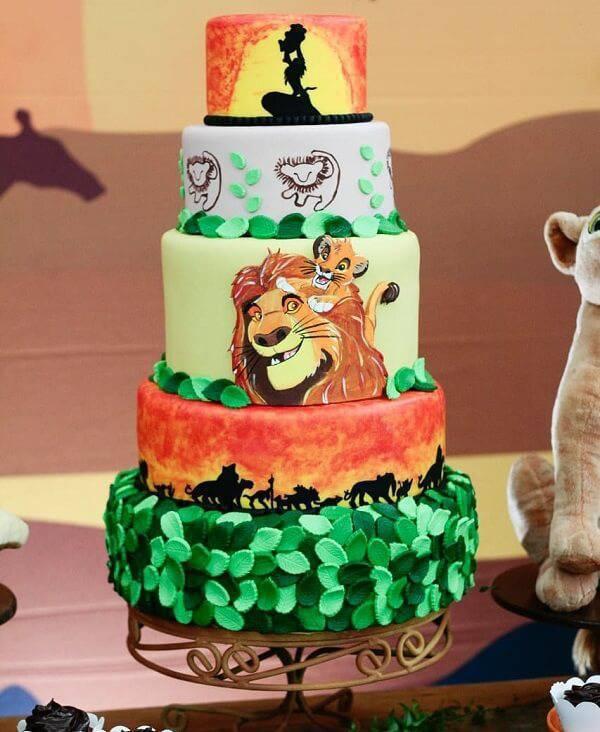 Lion King fake cake
