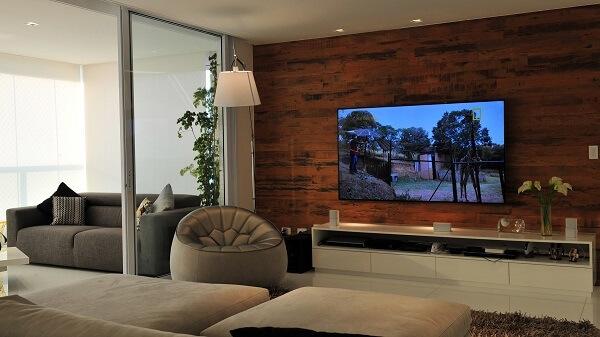Poltronas para sala de tv em formato redondo