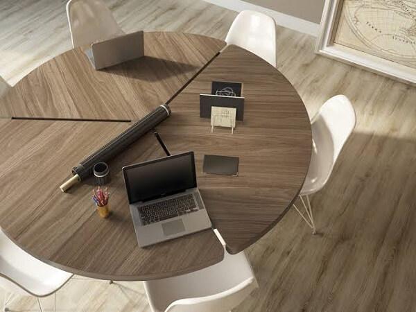 Decore o escritório com piso flutuante