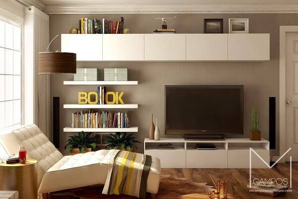 Invista em poltronas para sala de tv super aconchegante