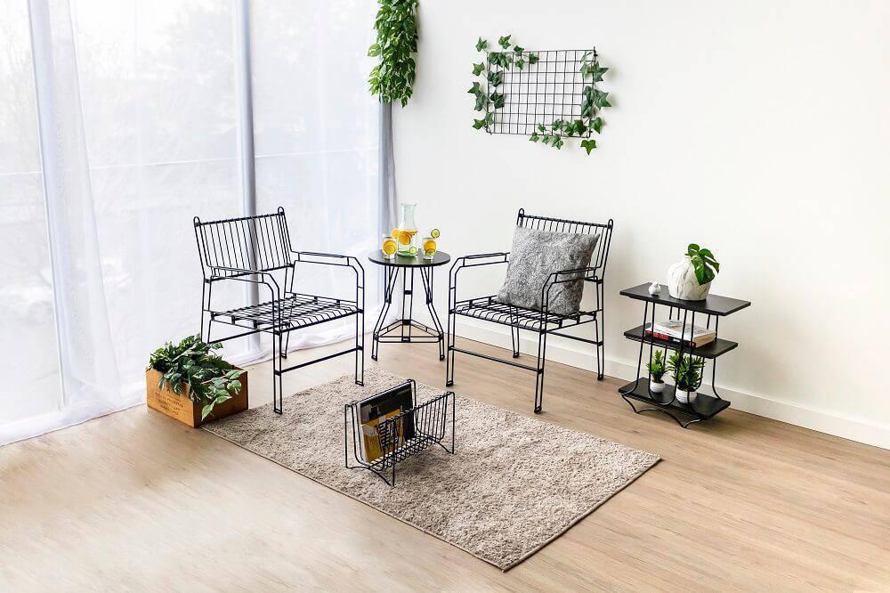Os produtos aramados podem transformar a decoração do seu ambiente