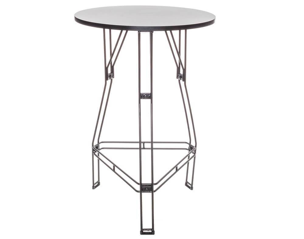 Modelo de mesa decorativa aramada bistrô