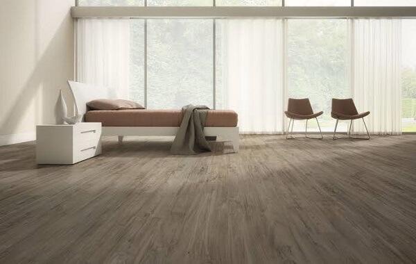 Piso flutuante para quarto de casal