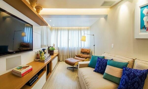 Poltronas para sala de tv trazem sofisticação ao ambiente