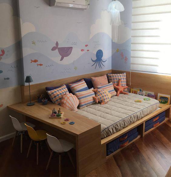 cadeira eames - papel de parede temático e cadeiras eames infantil