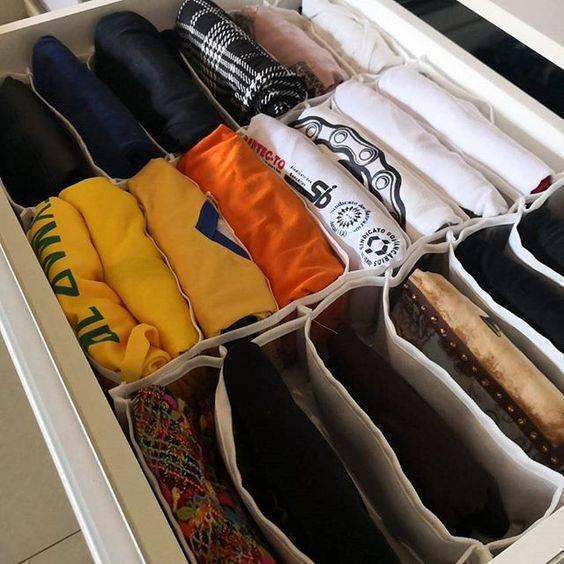 colmeia organizadora - colmeia de camisas