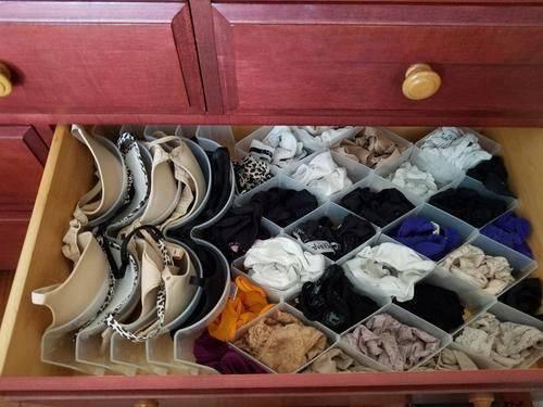 colmeia organizadora - gaveta com colmeias diferenciadas