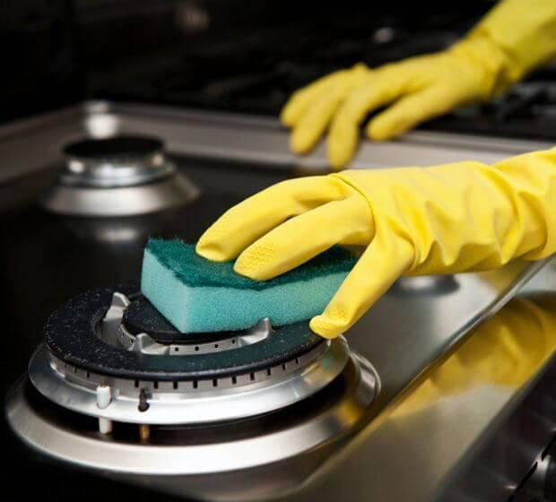 Como limpar fogão todos os dias com muita qualidade