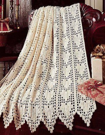 cortina de crochê - cortina de crochê branca grande