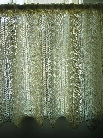 cortina de crochê - cortina de crochê simples