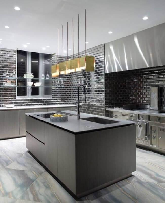 cozinhas modernas com ilha Foto Pinterest