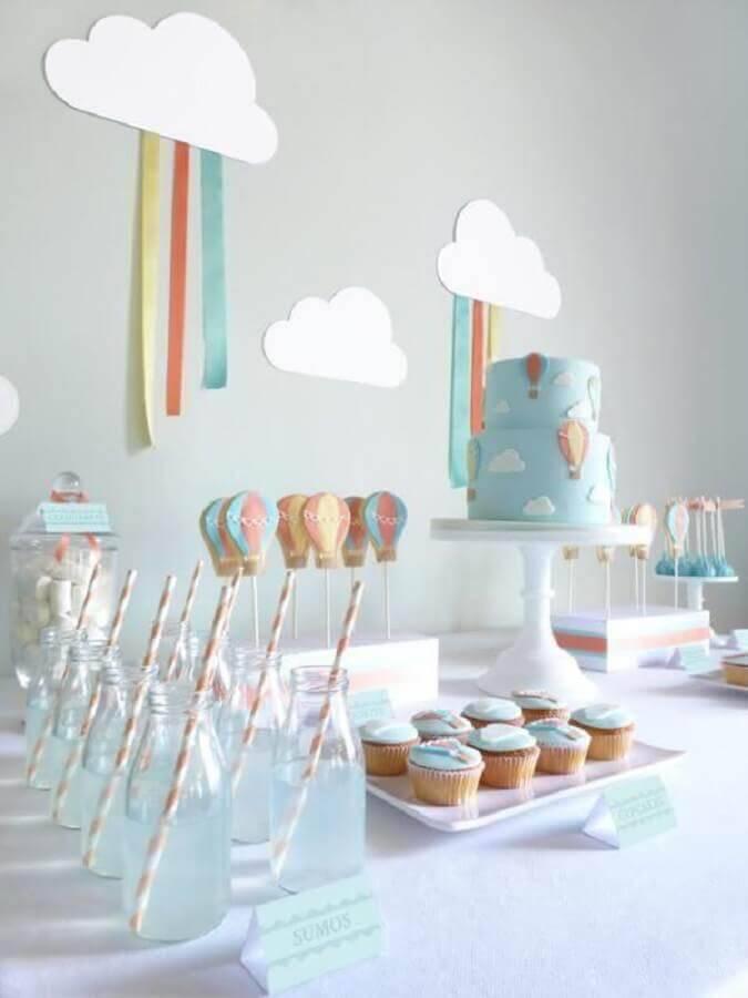 delicada decorada para mesa de doces aniversário infantil Foto We Heart It