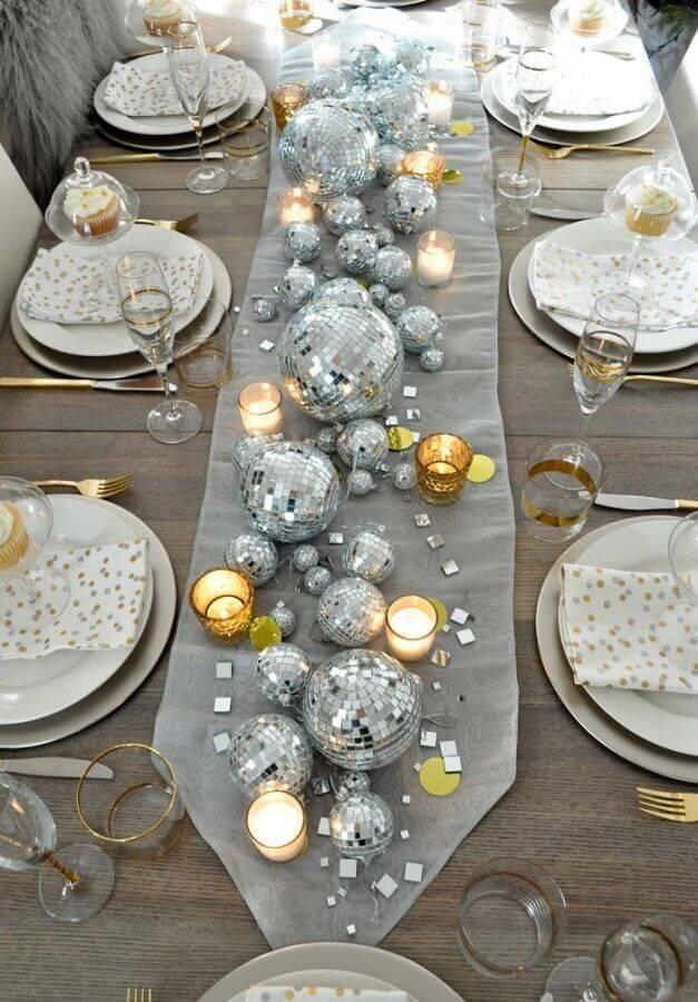detalhes para decoração de mesa de natal