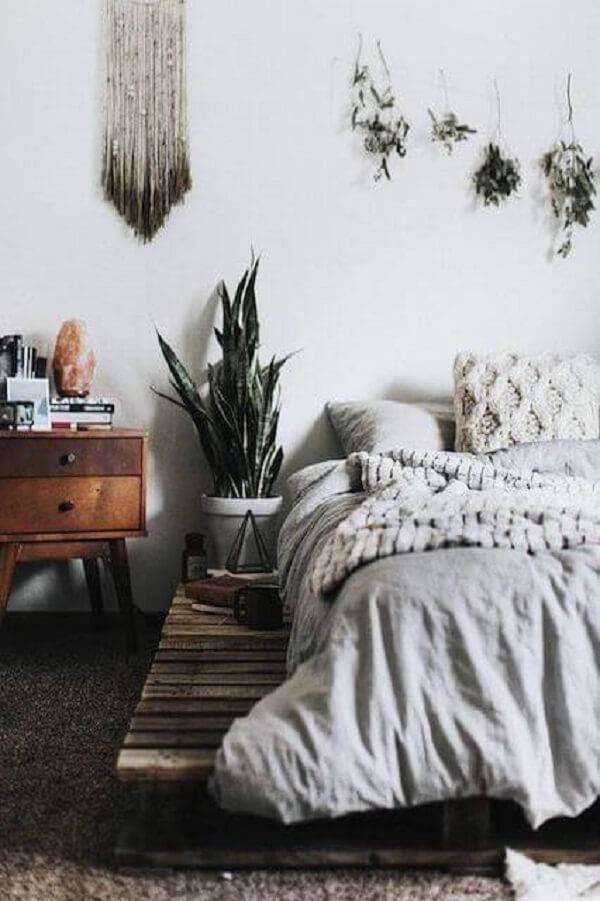 A espada de são jorge é uma das plantas para quarto que podem ser cultivadas ao lado da cama