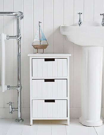 Gaveteiro organizador grande para banheiro
